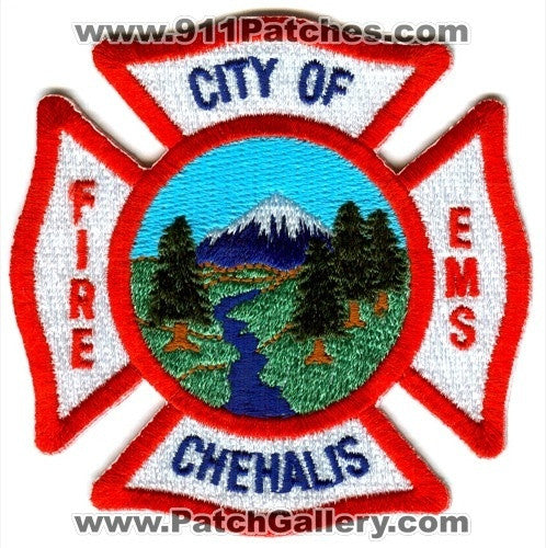Chehalis Fire Department Patch Washington WA