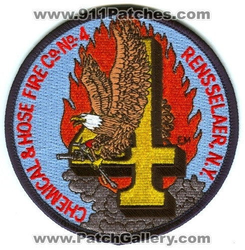 Chemical and Hose Fire Company Number 4 Rensselaer Patch New York NY