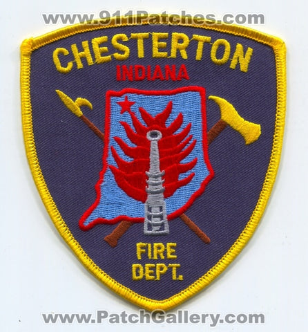 Chesterton Fire Department Patch Indiana IN