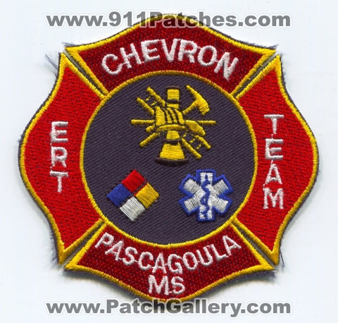 Chevron Emergency Response Team ERT Pascagoula Patch Mississippi MS