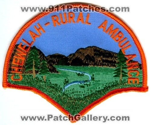 Chewelah-Rural Ambulance EMS Patch Washington WA