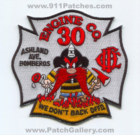 Chicago Fire Department Engine Company 30 Patch Illinois IL