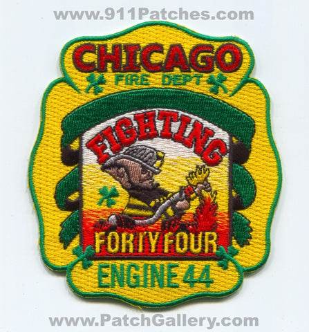 Chicago Fire Department Engine 44 Patch Illinois IL