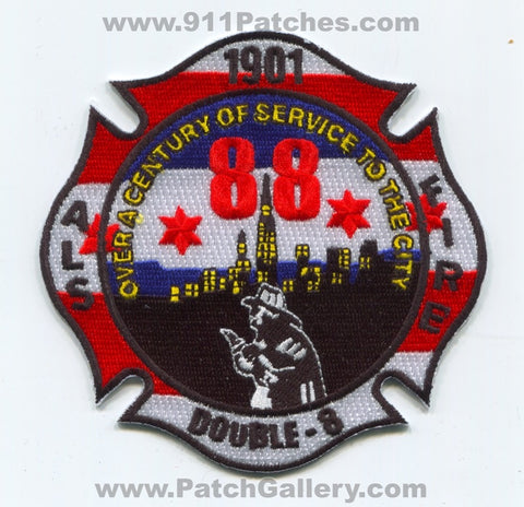 Chicago Fire Department Station 88 Patch Illinois IL