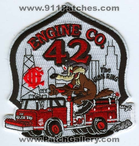 Chicago Fire Department Engine 42 Patch Illinois IL
