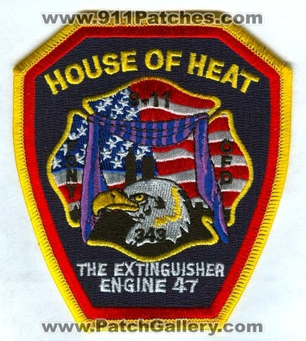 Chicago Fire Department Engine 47 Patch Illinois IL