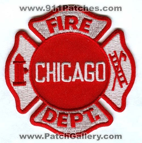 Chicago Fire Department Patch Illinois IL