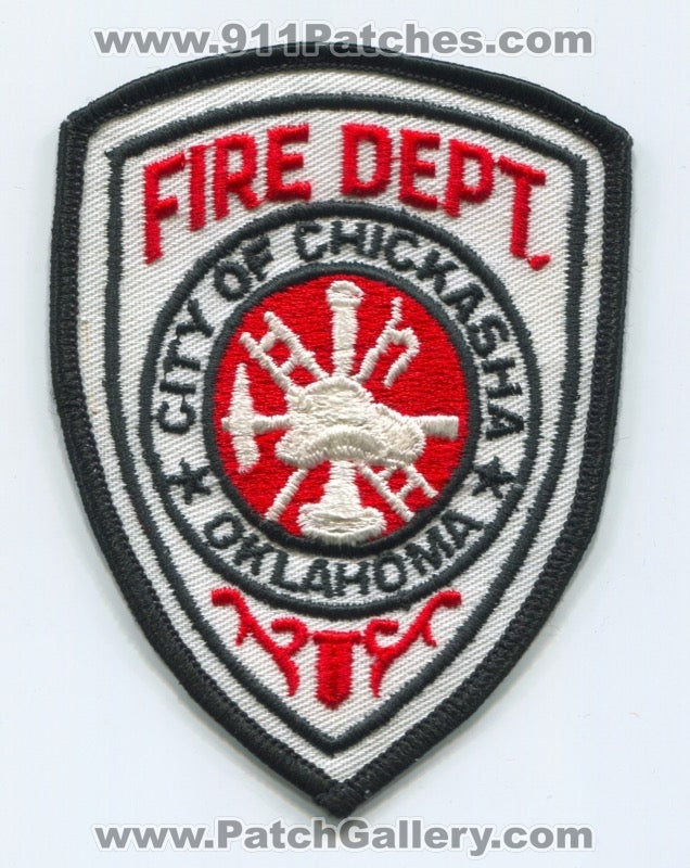Chickasha Fire Department Patch Oklahoma OK