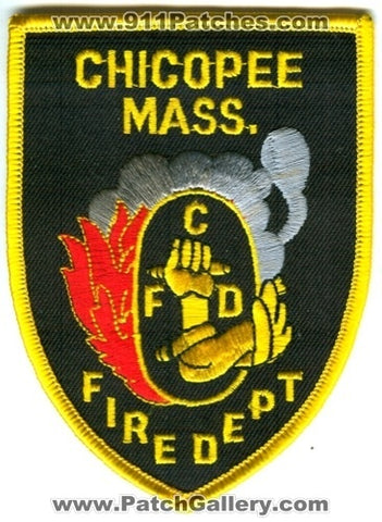 Chicopee Fire Department Patch Massachusetts MA