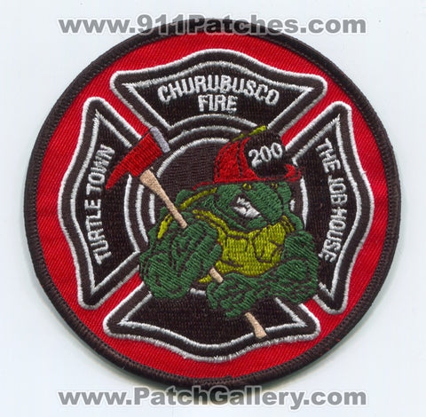 Churubusco Fire Department 200 Patch Indiana IN