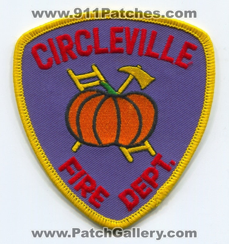 Circleville Fire Department Patch Unknown State