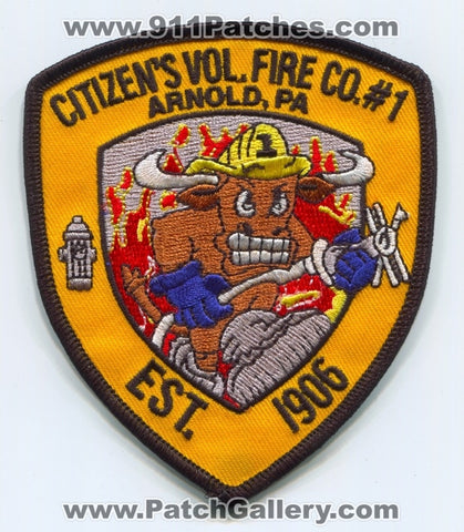 Citizens Volunteer Fire Company Number 1 Patch Pennsylvania PA