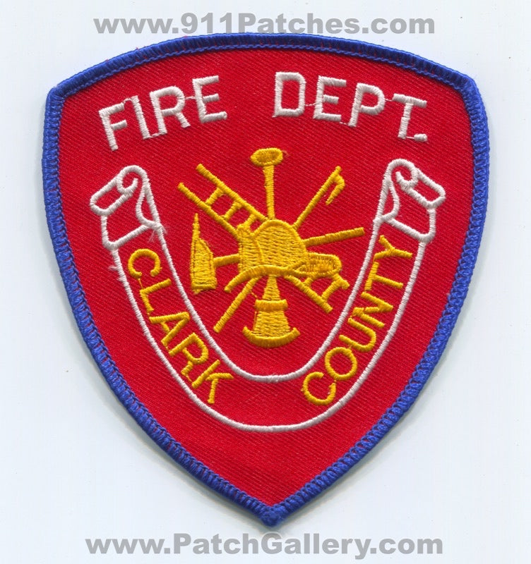 Clark County Fire Department Patch Unknown State
