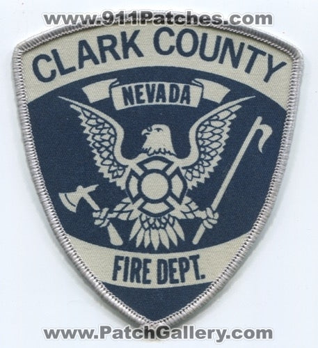 Clark County Fire Department Patch Nevada NV