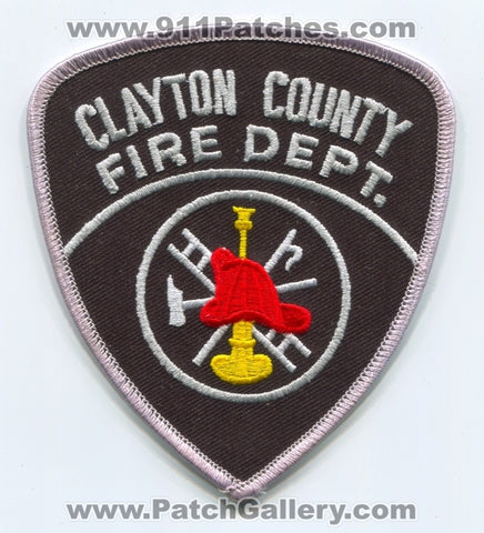 Clayton County Fire Department Patch Georgia GA