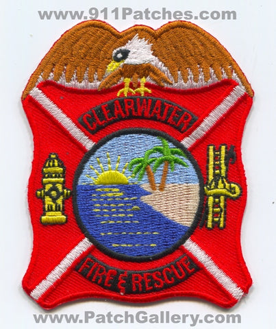 Clearwater Fire and Rescue Department Patch Florida FL
