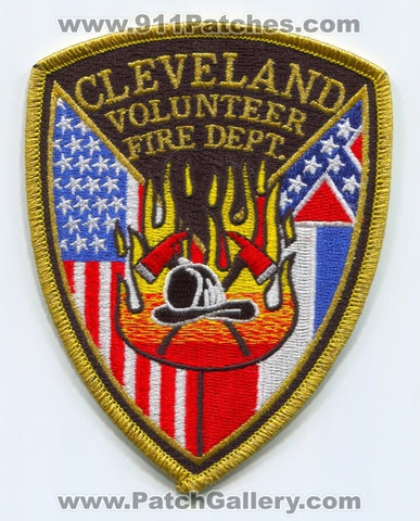 Cleveland Volunteer Fire Department Patch Mississippi MS