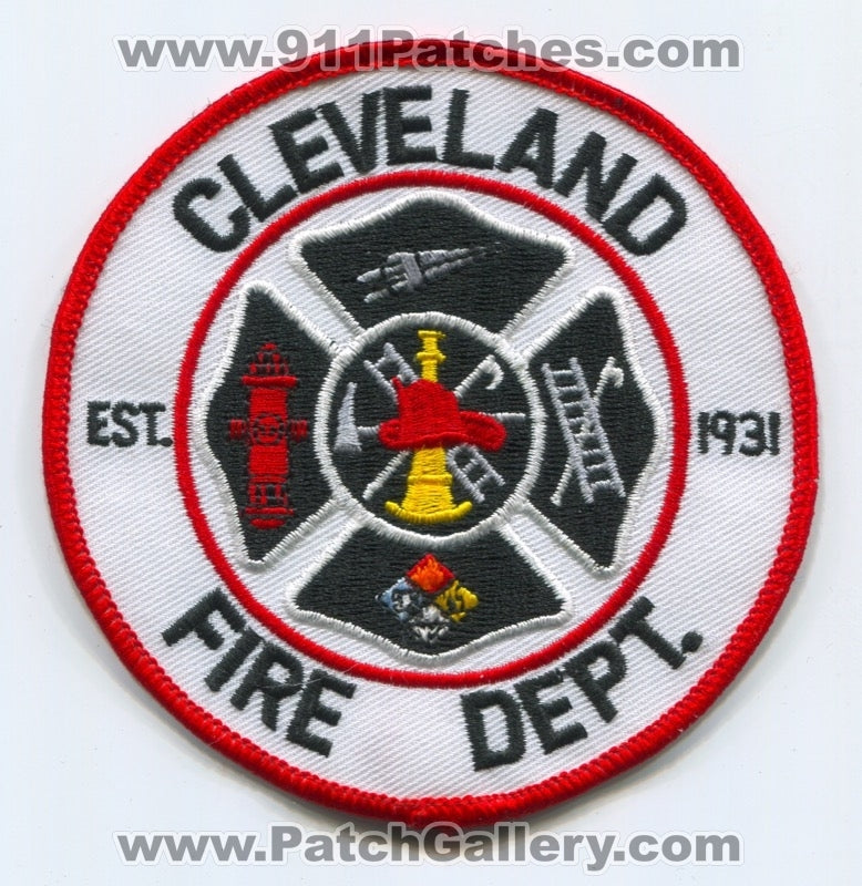 Cleveland Fire Department Patch Unknown State