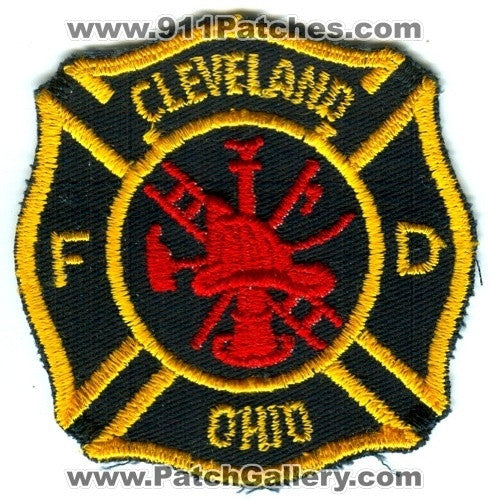 Cleveland Fire Department Patch Ohio OH