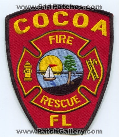 Cocoa Fire Rescue Department Patch Florida FL