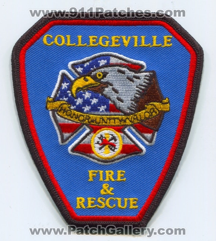 Collegeville Fire and Rescue Department Patch Arkansas AR