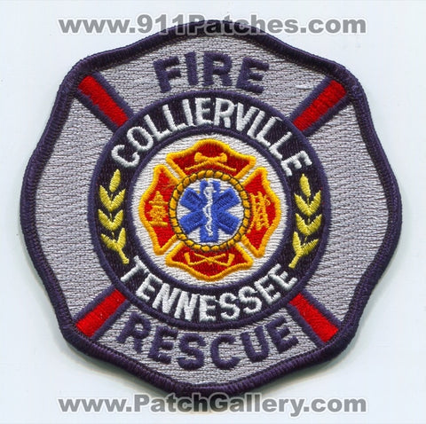 Collierville Fire Rescue Department Patch Tennessee TN