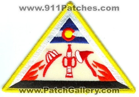 Colorado State Certified Fire Patch Colorado CO