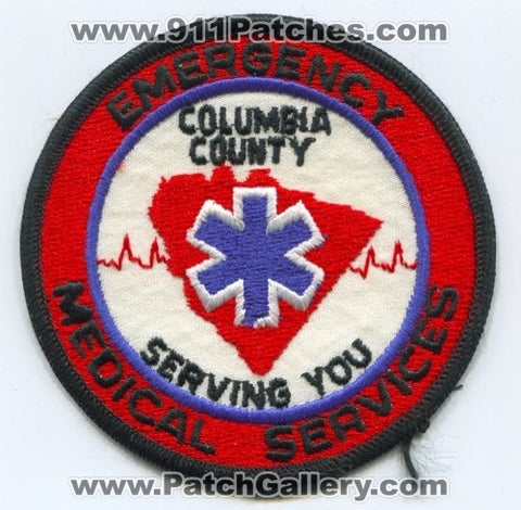 Columbia County Emergency Medical Services EMS Patch Georgia GA