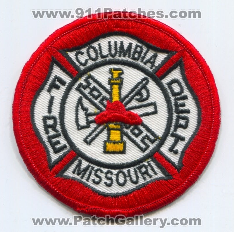 Columbia Fire Department Patch Missouri MO