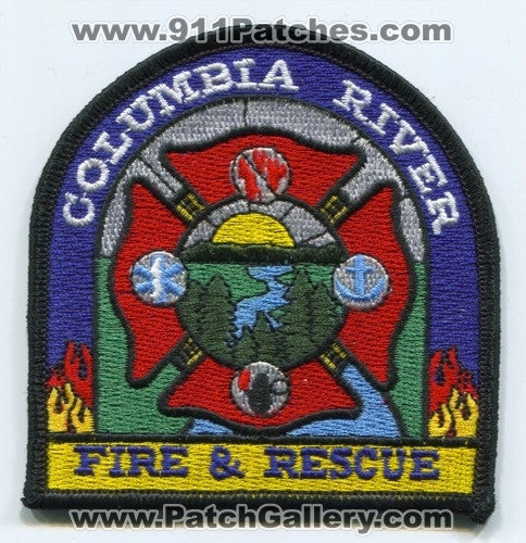 Columbia River Fire and Rescue Department Patch Oregon OR