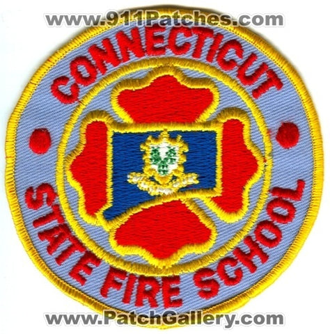 Connecticut State Fire School Patch Connecticut CT