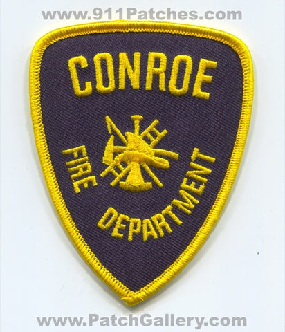 Conroe Fire Department Patch Texas TX