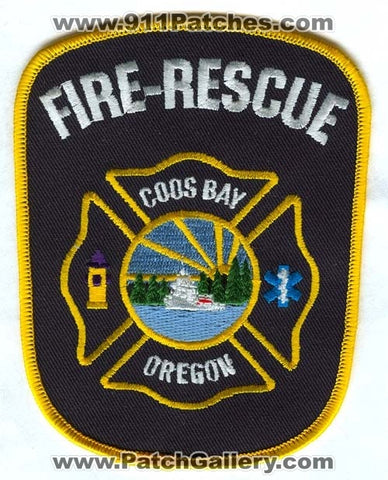 Coos Bay Fire Rescue Department Patch Oregon OR