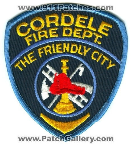 Cordele Fire Department Dept CFD Rescue EMS Patch Georgia GA Patches OLD