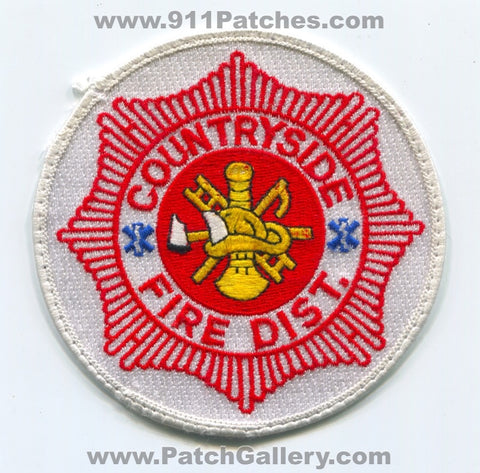 Countryside Fire District Patch Illinois IL