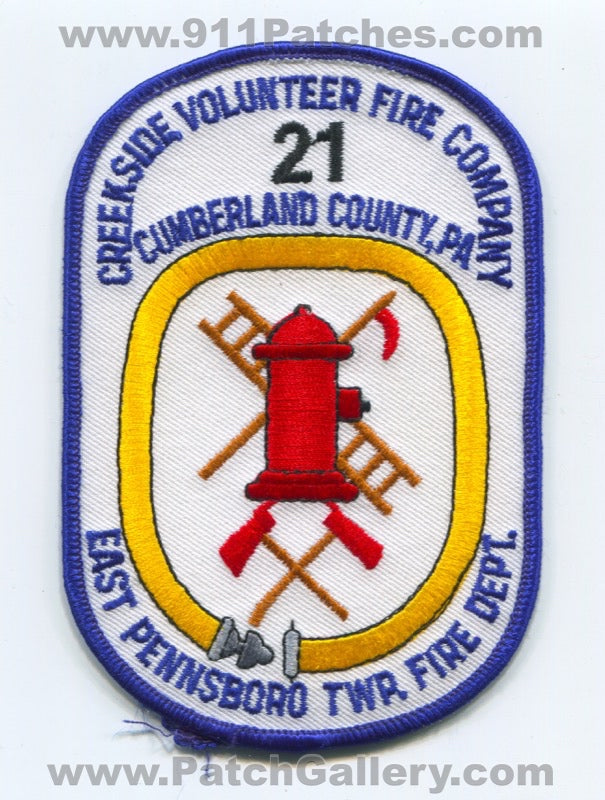 Creekside Volunteer Fire Company 21 East Pennsboro Township Patch Pennsylvania PA