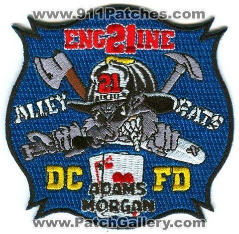 District of Columbia Fire Department DCFD Engine 21 Patch Washington DC