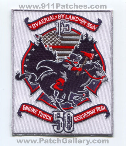 Dallas Fire Department Station 50 Patch Texas TX