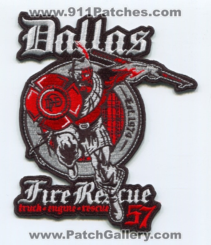 Dallas Fire Department Station 57 Patch Texas TX