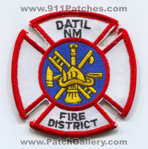 Datil Fire District Patch New Mexico NM