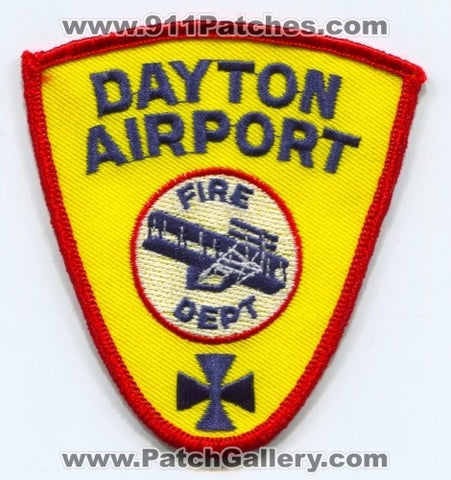 Dayton Airport Fire Department Patch Ohio OH