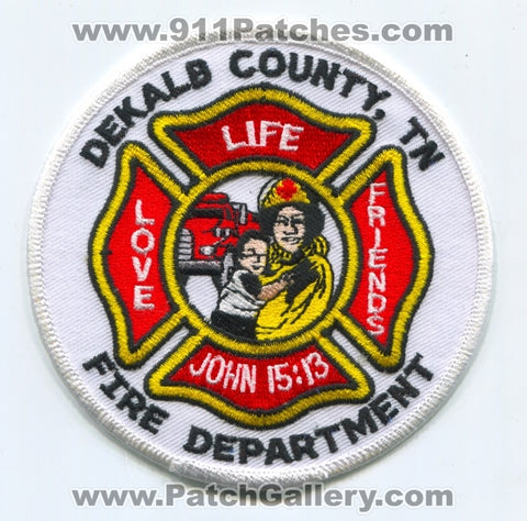 Dekalb County Fire Department Patch Tennessee TN