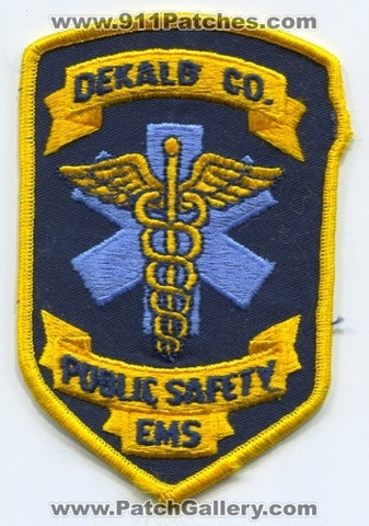 Dekalb County Public Safety EMS Patch Georgia GA
