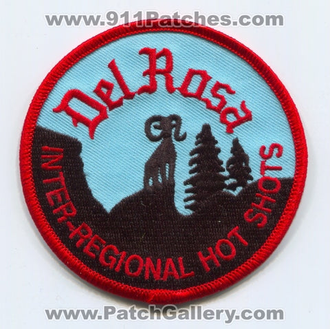 Del Rosa Inter-Regional Hotshots Forest Fire Wildfire Wildland Patch California CA