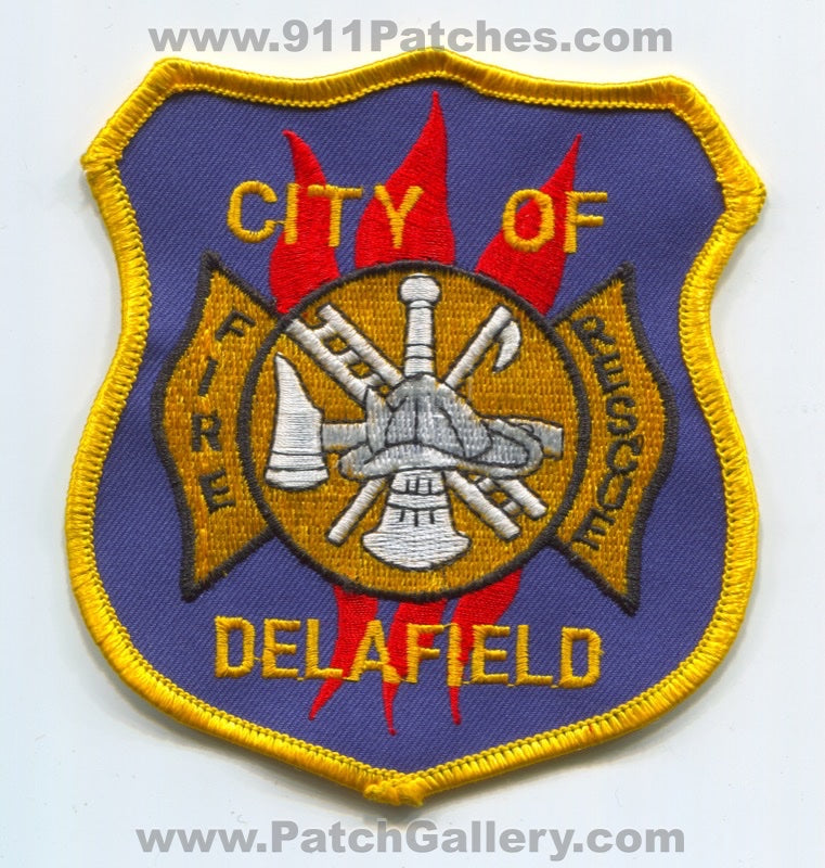 Delafield Fire Rescue Department Patch Wisconsin WI