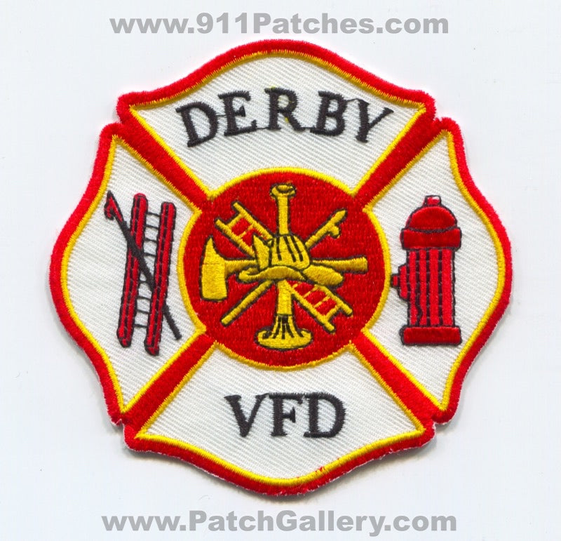 Derby Volunteer Fire Department Patch Iowa IA