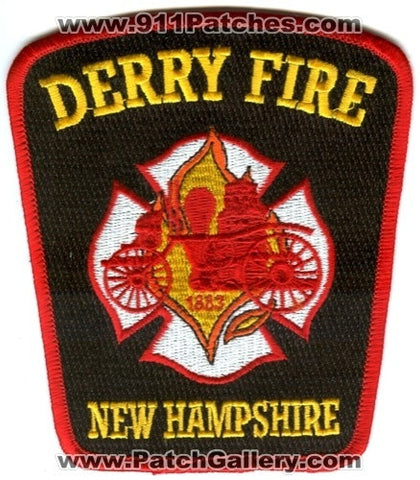 Derry Fire Department Patch New Hampshire NH