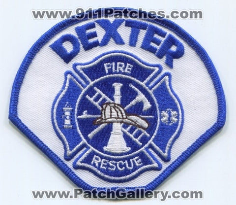 Dexter Fire Rescue Department Patch Unknown State