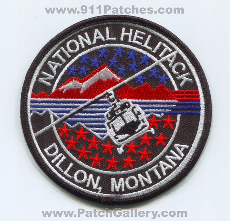 Dillion National Helitack Wise River Forest Fire Wildfire Wildland Patch Montana MT