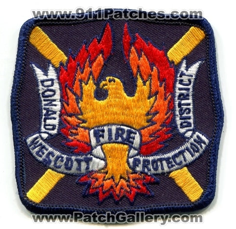 Donald Wescott Fire Protection District Patch Colorado CO